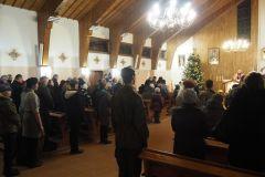 Msza święta w Parafii Św. Brata Alberta
