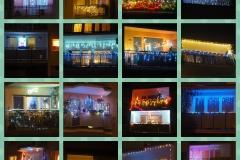Zdjęcia balkonów i choinek