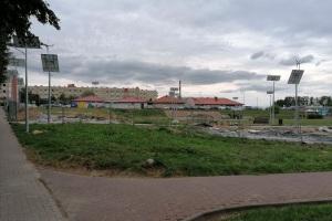 Budowa Parku w Koziegłowach