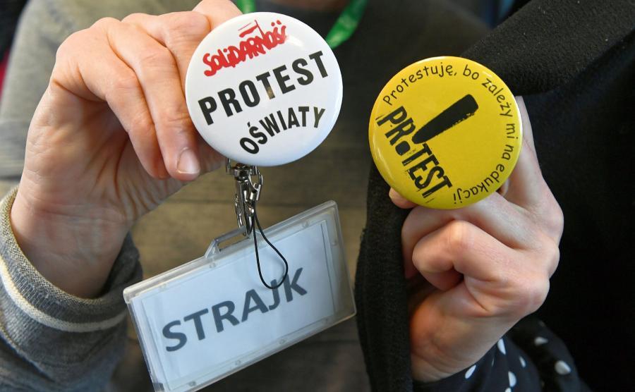 Strajk W Szkole Będzie Kontynuowany